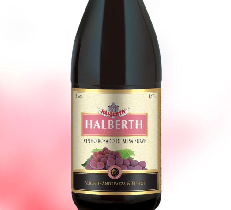 Vinho Rosado de Mesa Suave 1,47L