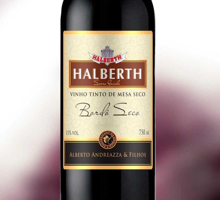 Vinho Bordô de Mesa Seco