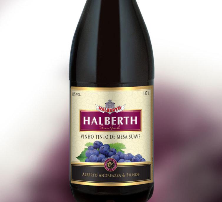 Vinho Tinto de Mesa Suave 1,47L
