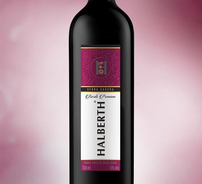 Vinho Bordô Premium Suave